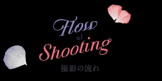 FlowofShooting撮影の流れ